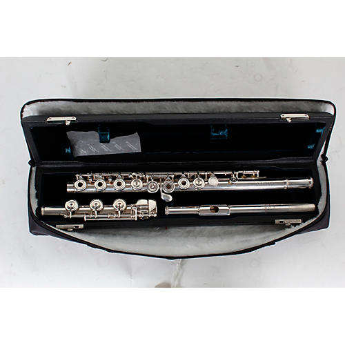 Open Box BURKART Resona 300 Flute with Sterling Silver Body and Headjoint with 14K Gold Riser