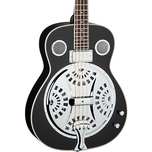 Open Box Dean Resonator Acoustic-Electric Bass
