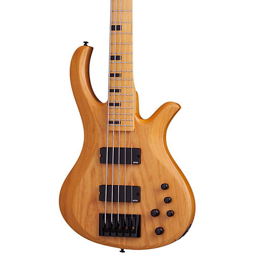 Open Box Schecter Guitar Research Riot-5 Session  5 String Electric Bass Guitar