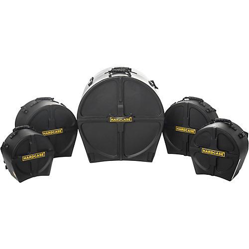 Open Box HARDCASE RockFusion 5-Piece Drum Case Set