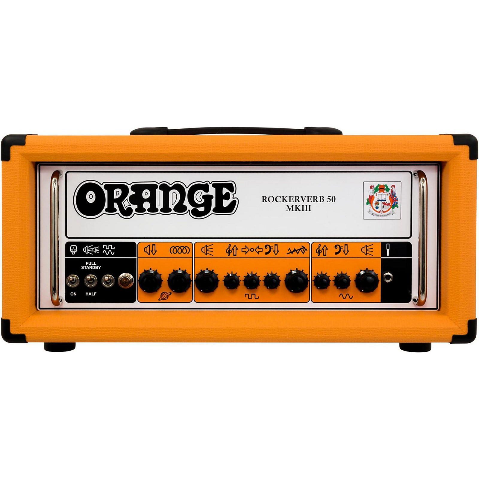 Open Box Orange Amplifiers Rockerverb 50 MKIII 50W Tube Guitar Amp Head