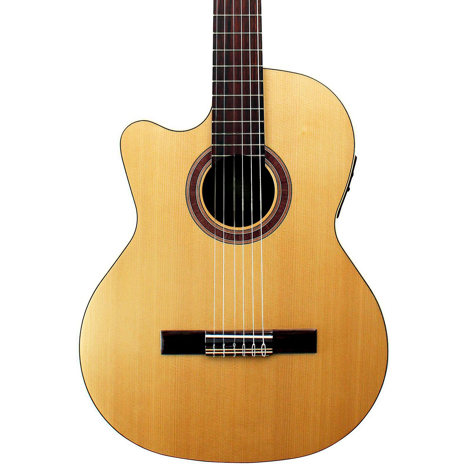 Open Box Kremona Rondo Thin Line Left-Handed Classical Acoustic-Electric Guitar