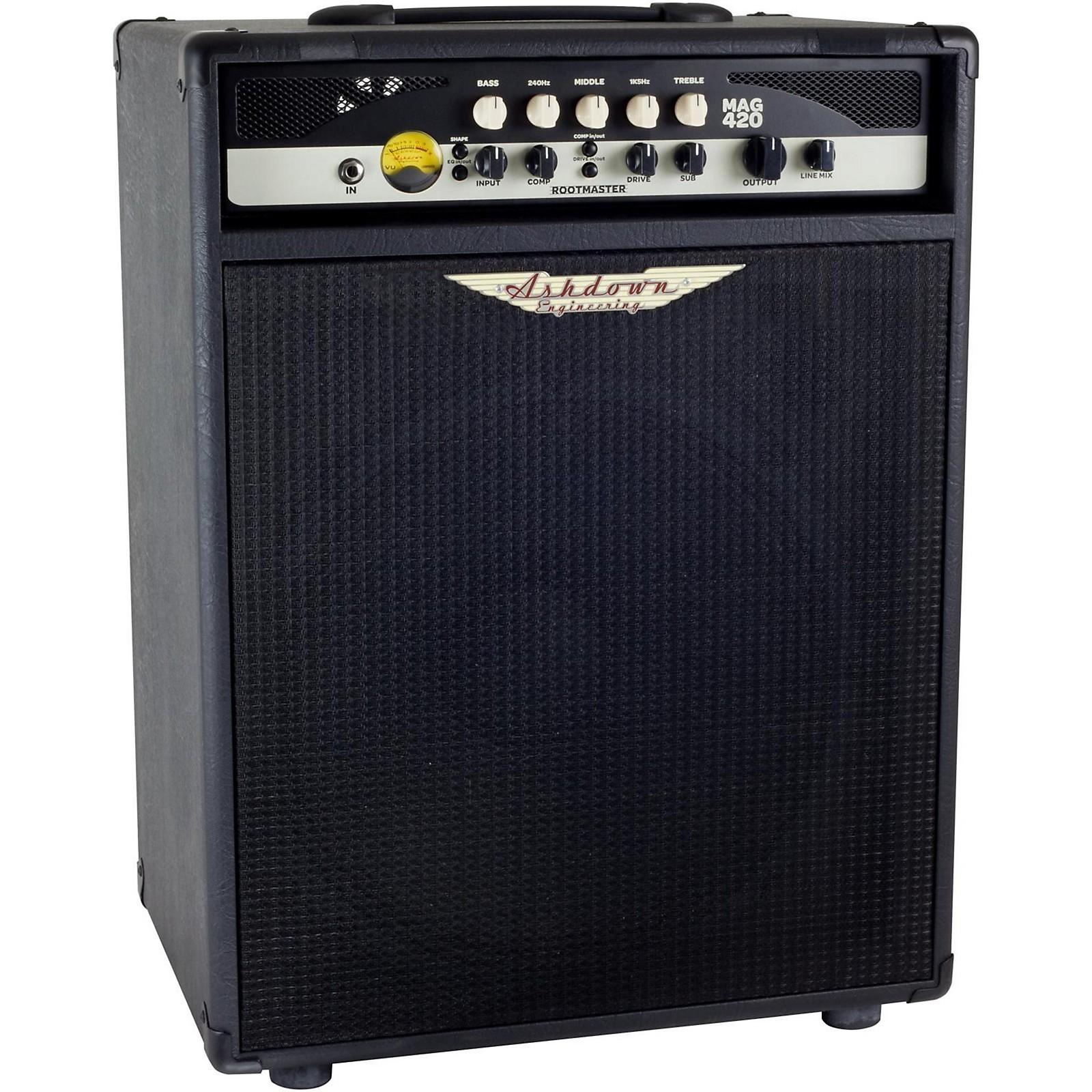 Open Box Ashdown Rootmaster 420W 1x15 Bass Combo Amp