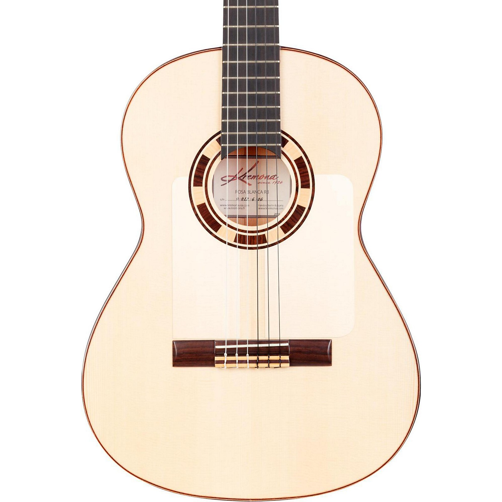 Open Box Kremona Rosa Blanca Flamenco Guitar
