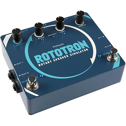 Open Box Pigtronix Rototron Analog Rotary Speaker Simulator