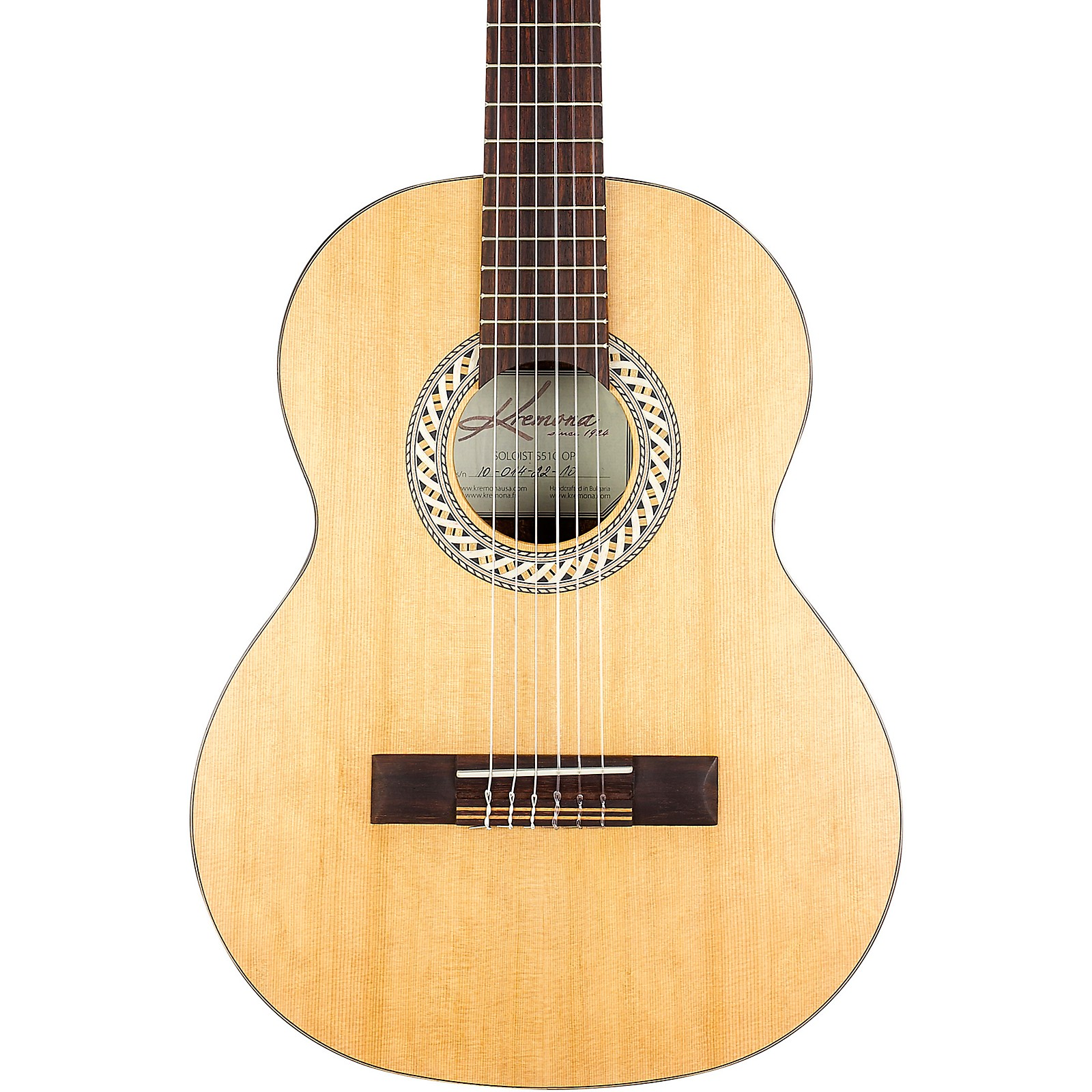Open Box Kremona S51C 1/2 Scale Classical Guitar