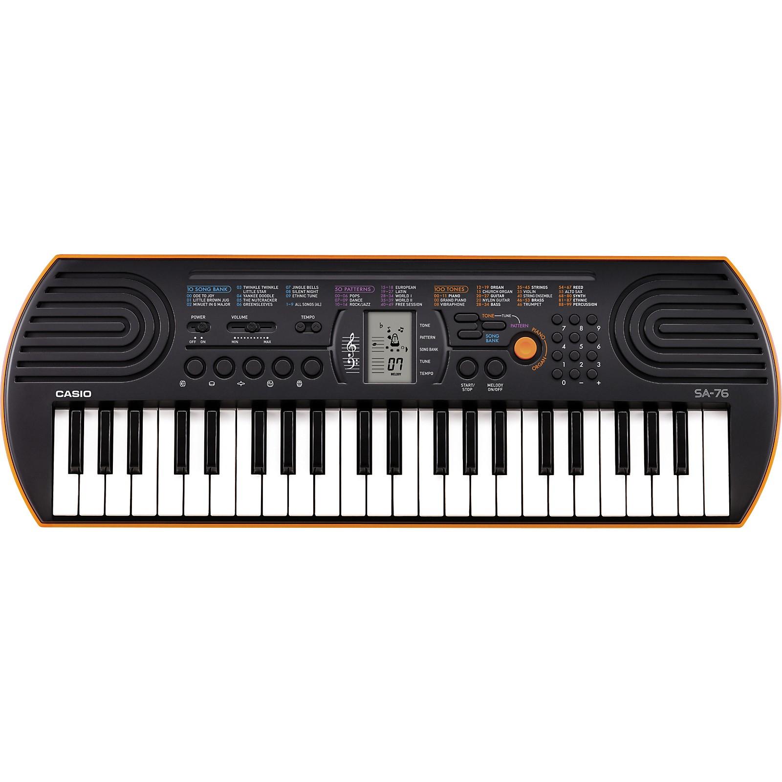 Open Box Casio SA-76 Keyboard