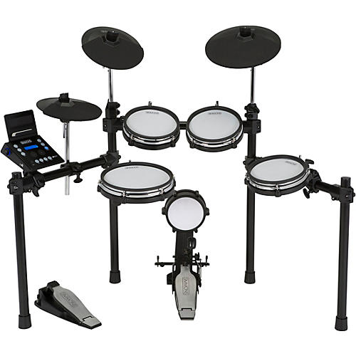 Open Box Simmons SD600 Electronic Drum Set with Mesh Heads and Bluetooth