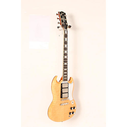 Open Box Gibson Custom SG Custom Figured Top 3-Pickup Electric Guitar