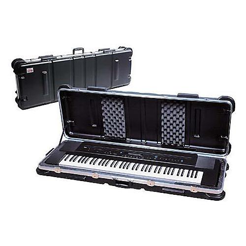 Open Box SKB SKB-5014W 76-Key Keyboard Case with Wheels