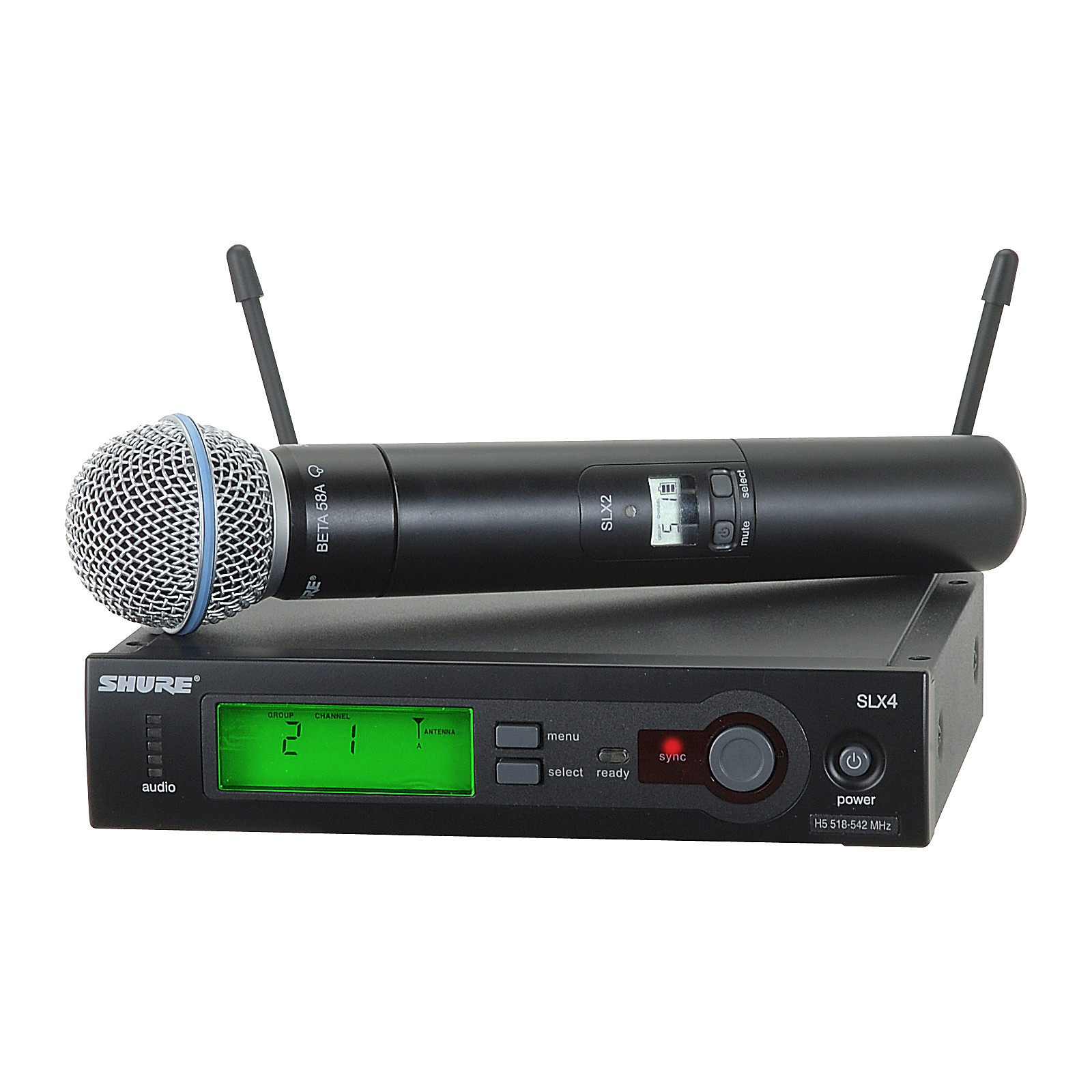 Open Box Shure SLX Beta58 Handheld Wireless System