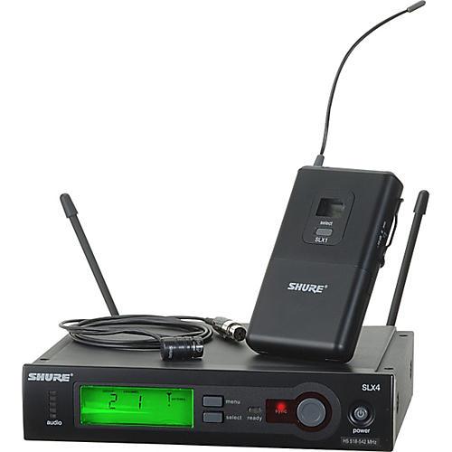 Open Box Shure SLX14/84 Lav Wireless System