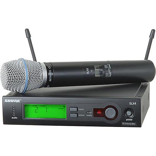Open Box Shure SLX24/BETA87C Wireless Microphone System