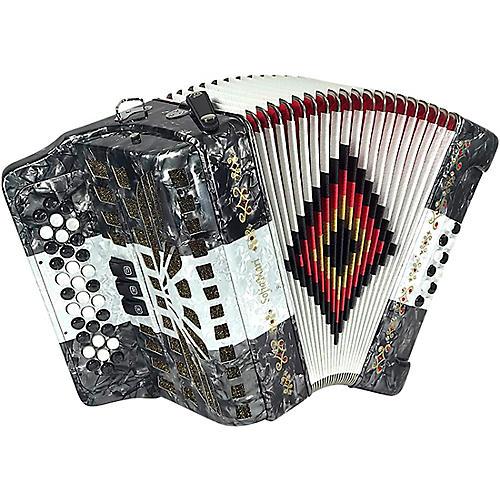 Open Box SofiaMari SM-3412 34-Button 12 Bass Accordion FBE