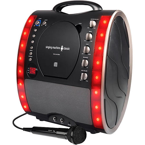 Open Box The Singing Machine SML343 Karaoke System