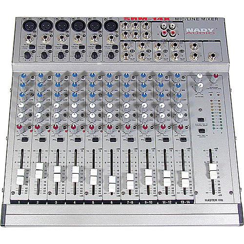 Open Box Nady SRM14X Mixer