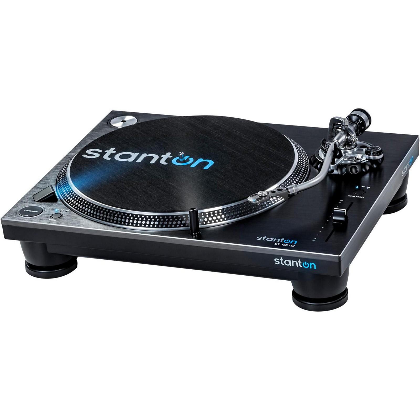 Open Box Stanton ST.150 M2 High-Torque Professional Direct-Drive DJ Turntable with Deckadance