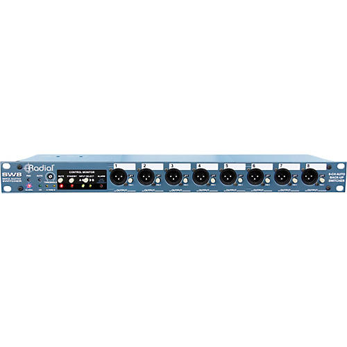 Open Box Radial Engineering SW8 8-Channel Passive Auto Switcher