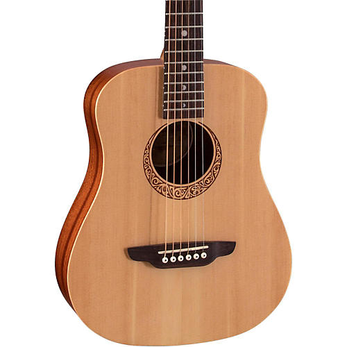 Open Box Luna Guitars Safari Supreme Acoustic Guitar