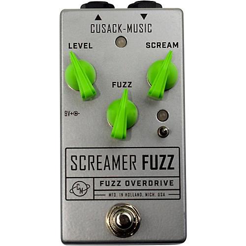 Open Box Cusack Music Screamer Fuzz Effects Pedal