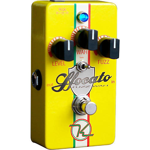 Open Box Keeley Sfocato Fuzz Wah Guitar Effects Pedal