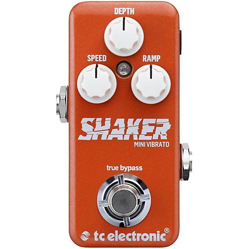 Open Box TC Electronic Shaker Mini Vibrato Guitar Effects Pedal