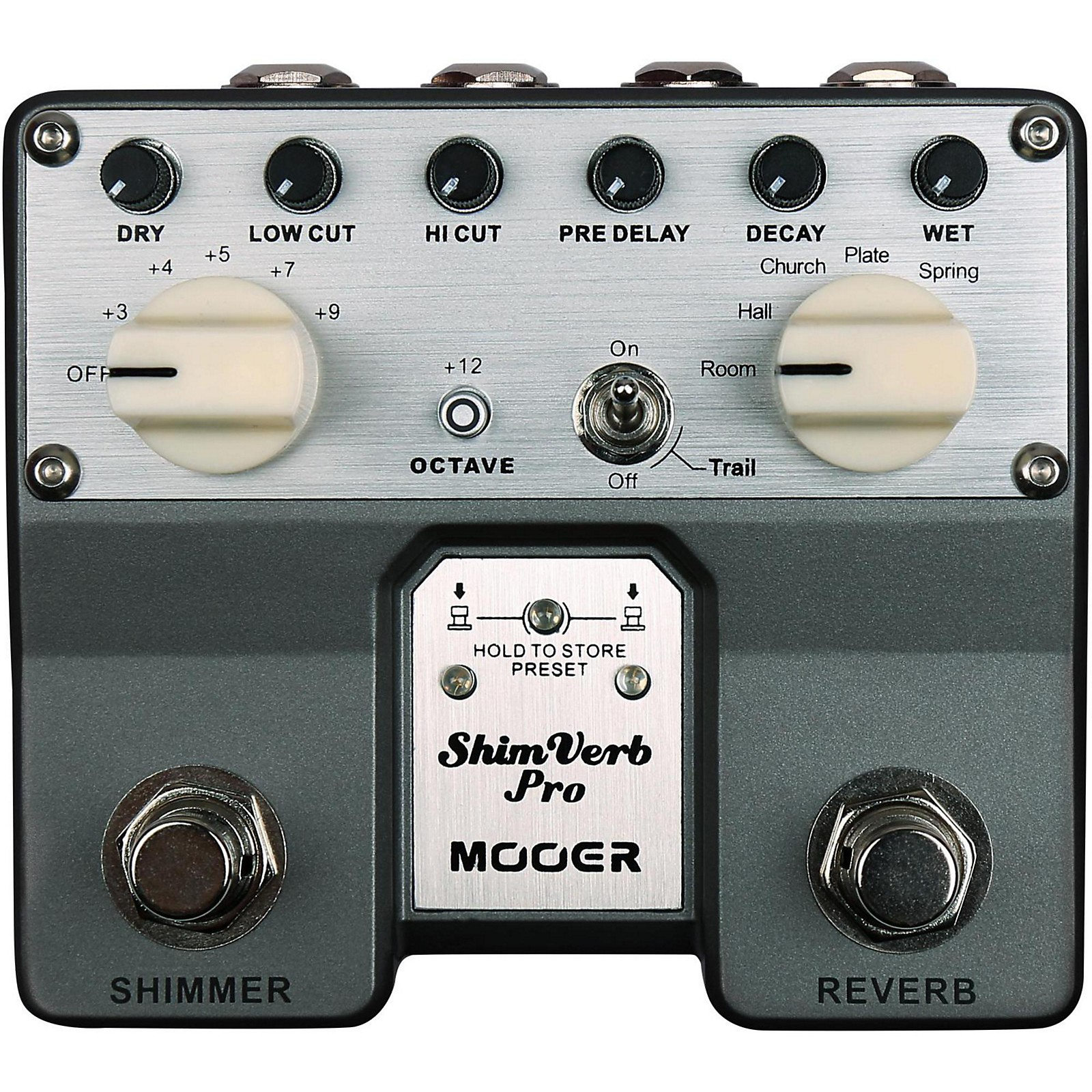 Open Box Mooer ShimVerb Pro Reverb Effects Pedal