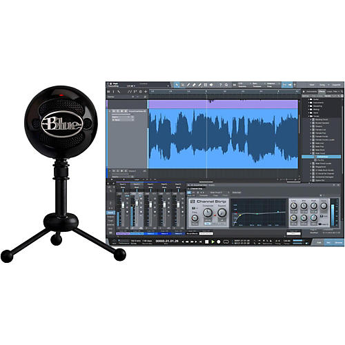 Open Box BLUE Snowball Studio USB Microphone