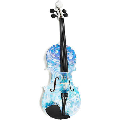Open Box Rozanna's Violins Snowflake Series Violin Outfit