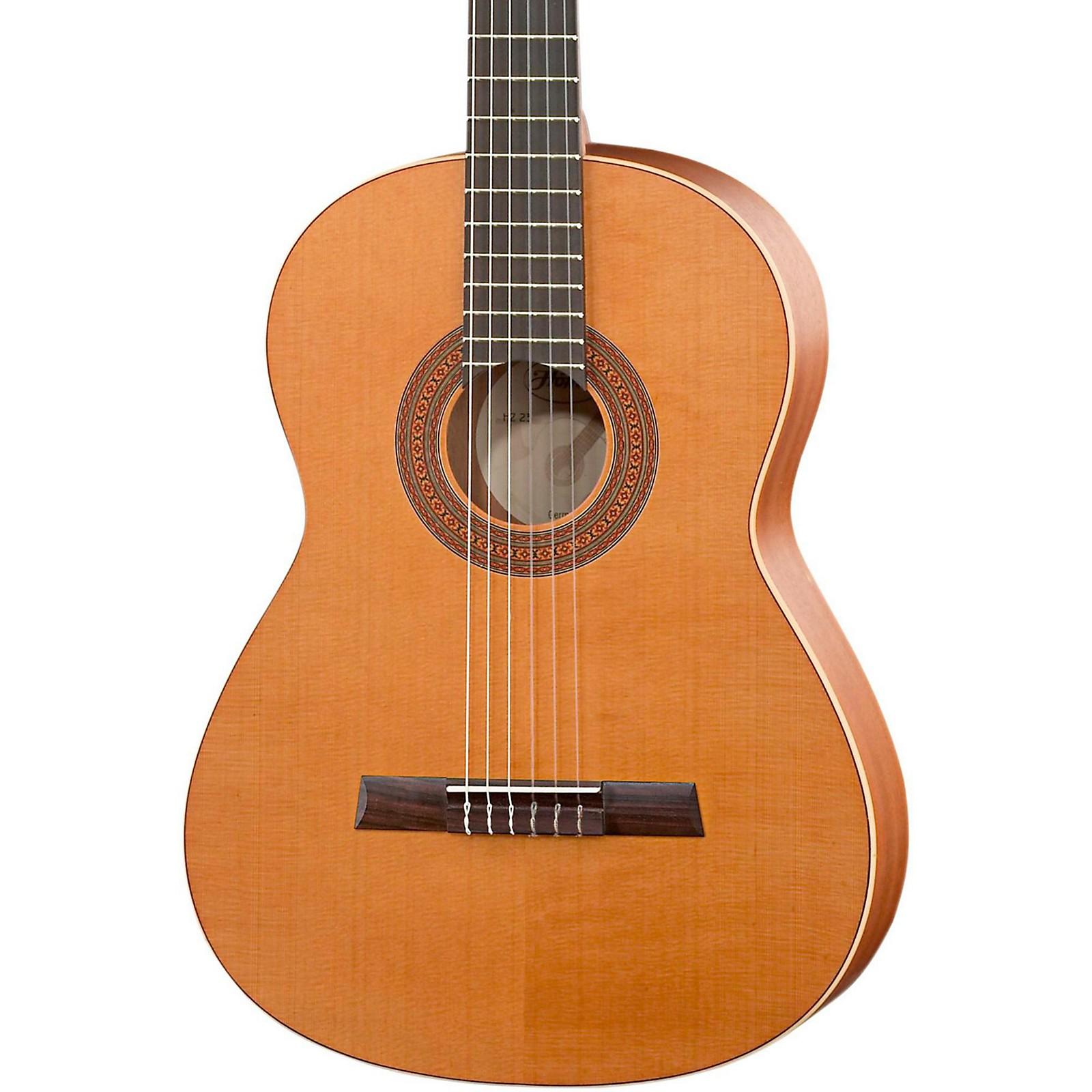 Open Box Hofner Solid Cedar Top Mahogany Body Classical Acoustic Guitar