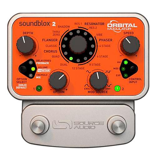Open Box Source Audio Soundblox 2 Orbital Modulator