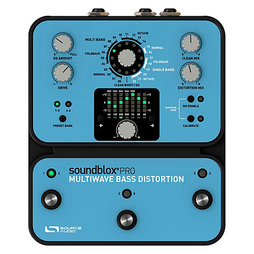 Open Box Source Audio Soundblox Pro Multi Wave Bass Distortion