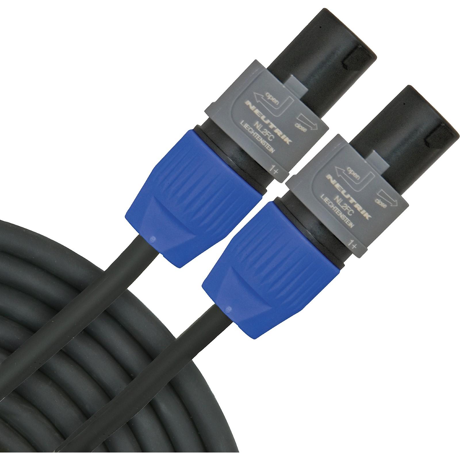 Open Box Gear One Speakon Speaker Cable