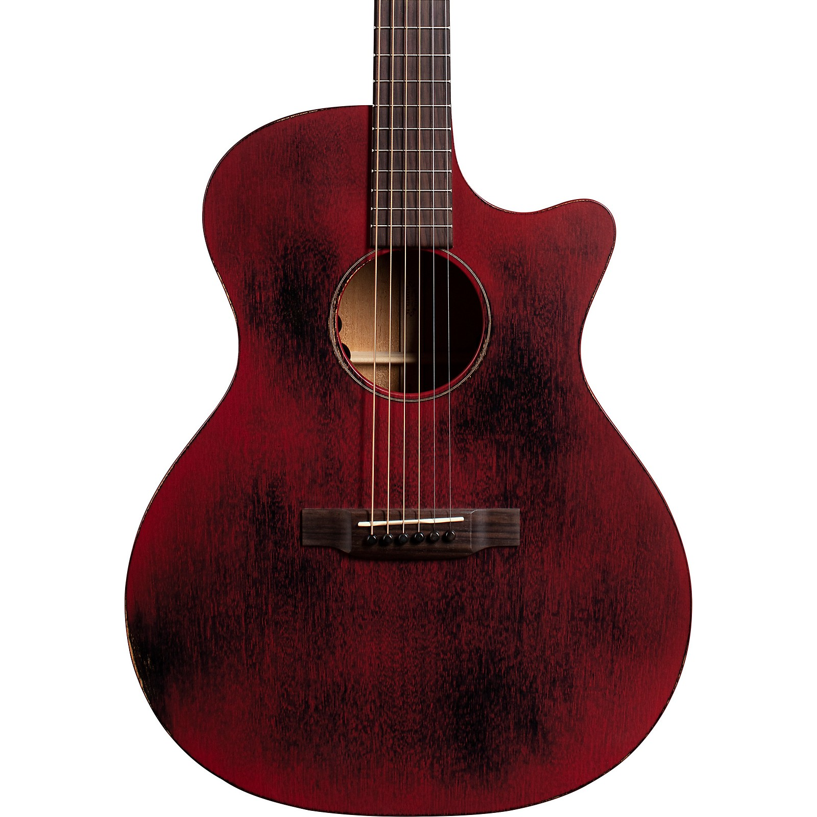 Open Box Martin Special USA Grand Performance Cutaway 15ME Streetmaster Style Acoustic-Electric Guitar