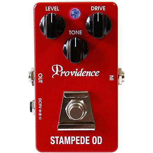 Open Box Providence Stampede Overdrive Pedal