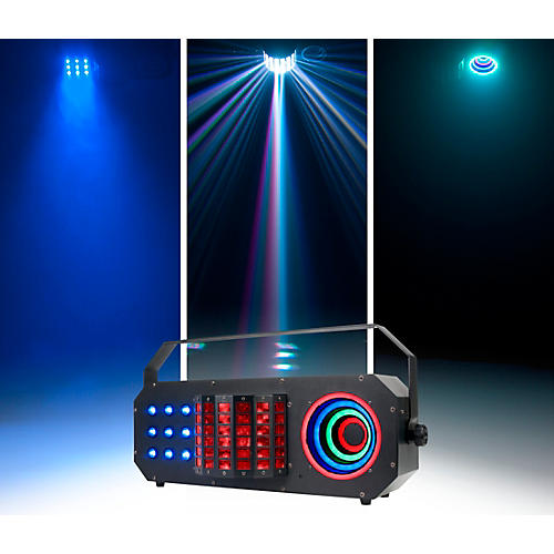 Open Box American DJ Startec Boom Box FX3 3-in-1 LED Derby, Wash and SMD Lighting Effect