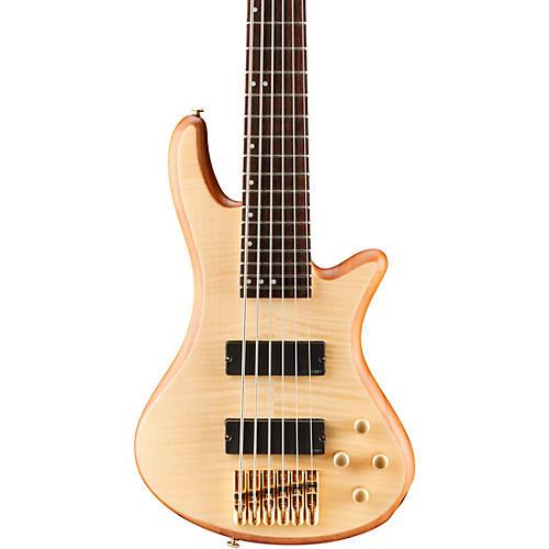 Open Box Schecter Guitar Research Stiletto Custom 6 6-String Bass Guitar