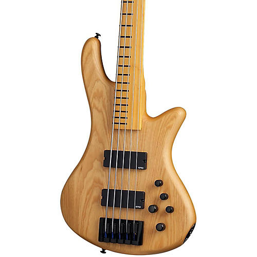 Open Box Schecter Guitar Research Stiletto Session-5 Fretless Electric Bass