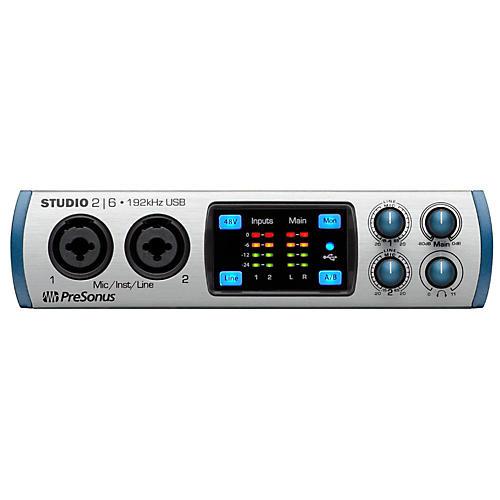 Open Box PreSonus Studio26 (2x4 USB 2.0 24-bit 192 kHz Audio Interface)