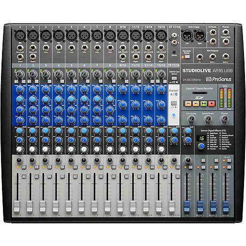 Open Box PreSonus StudioLive AR16 18-channel Hybrid Digital/Analog Performance Mixer