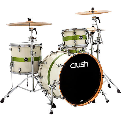 Open Box Crush Drums & Percussion Sublime E3 Maple 4-Piece Shell Pack with 22x18