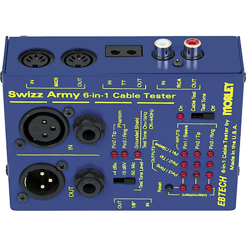 Open Box Ebtech Swizz Army Cable Tester