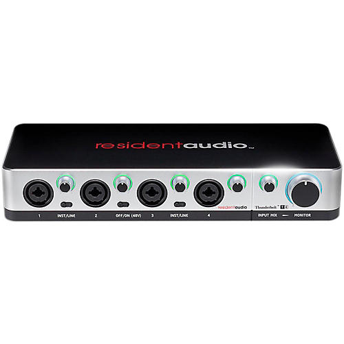 Open Box Resident Audio T4 Four-Channel Thunderbolt Interface