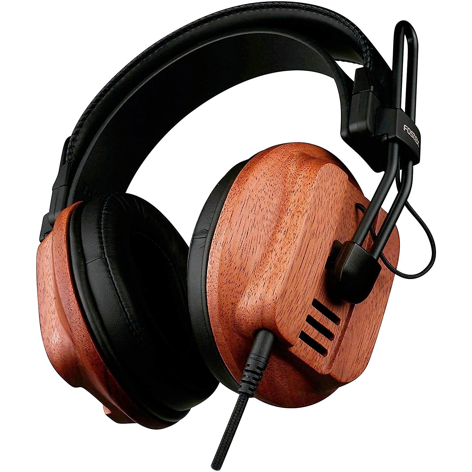 Open Box Fostex T60 RP Premium Mahogany Semi-Open Headphones