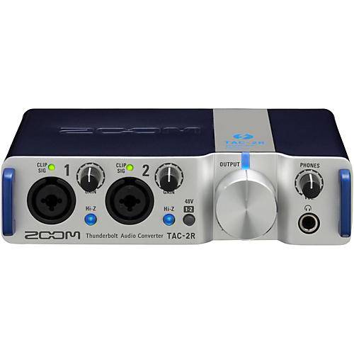 Open Box Zoom TAC-2R Two Channel Thunderbolt Interface