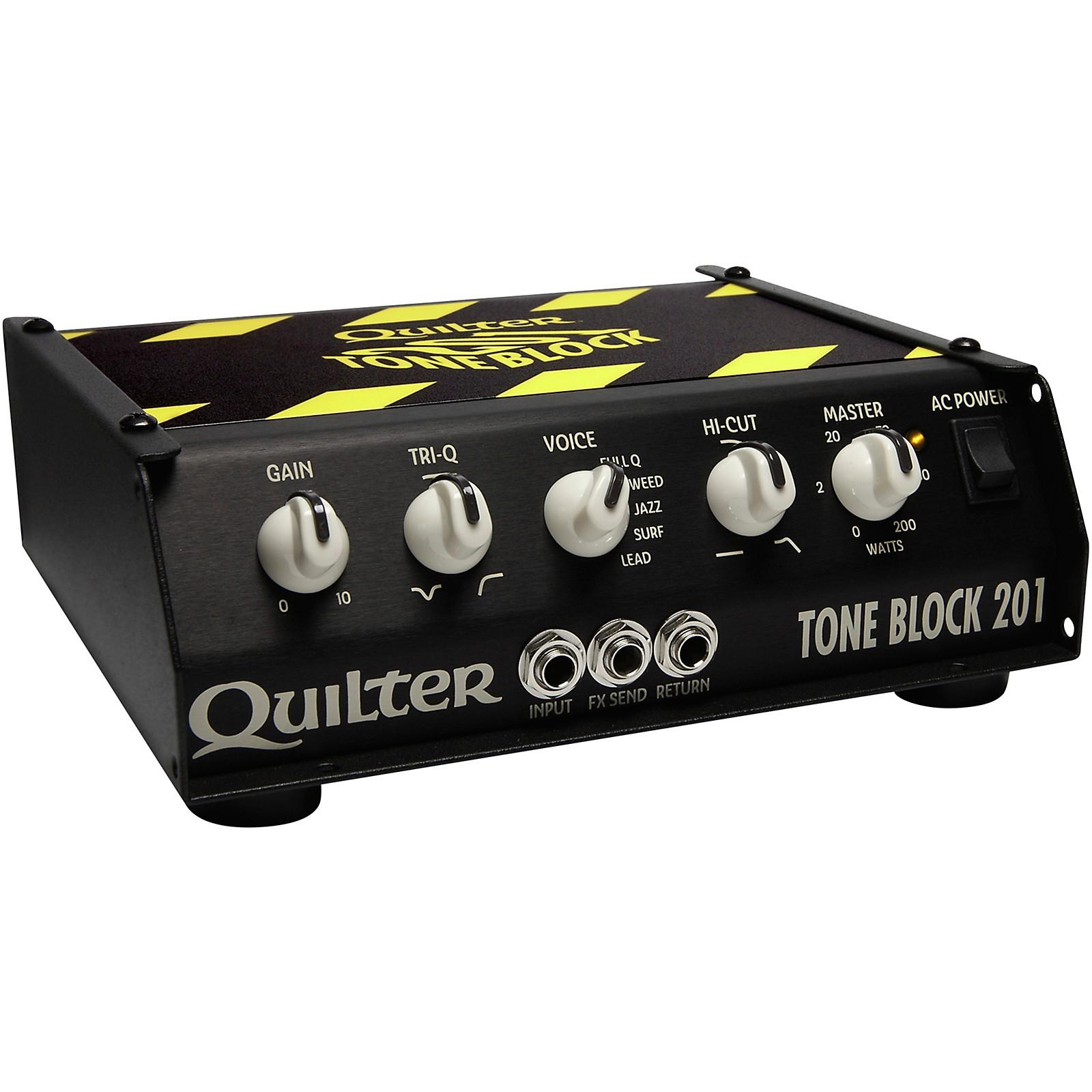 Open Box Quilter Labs TB201-HEAD Tone Block 201 200W Guitar Amp Head