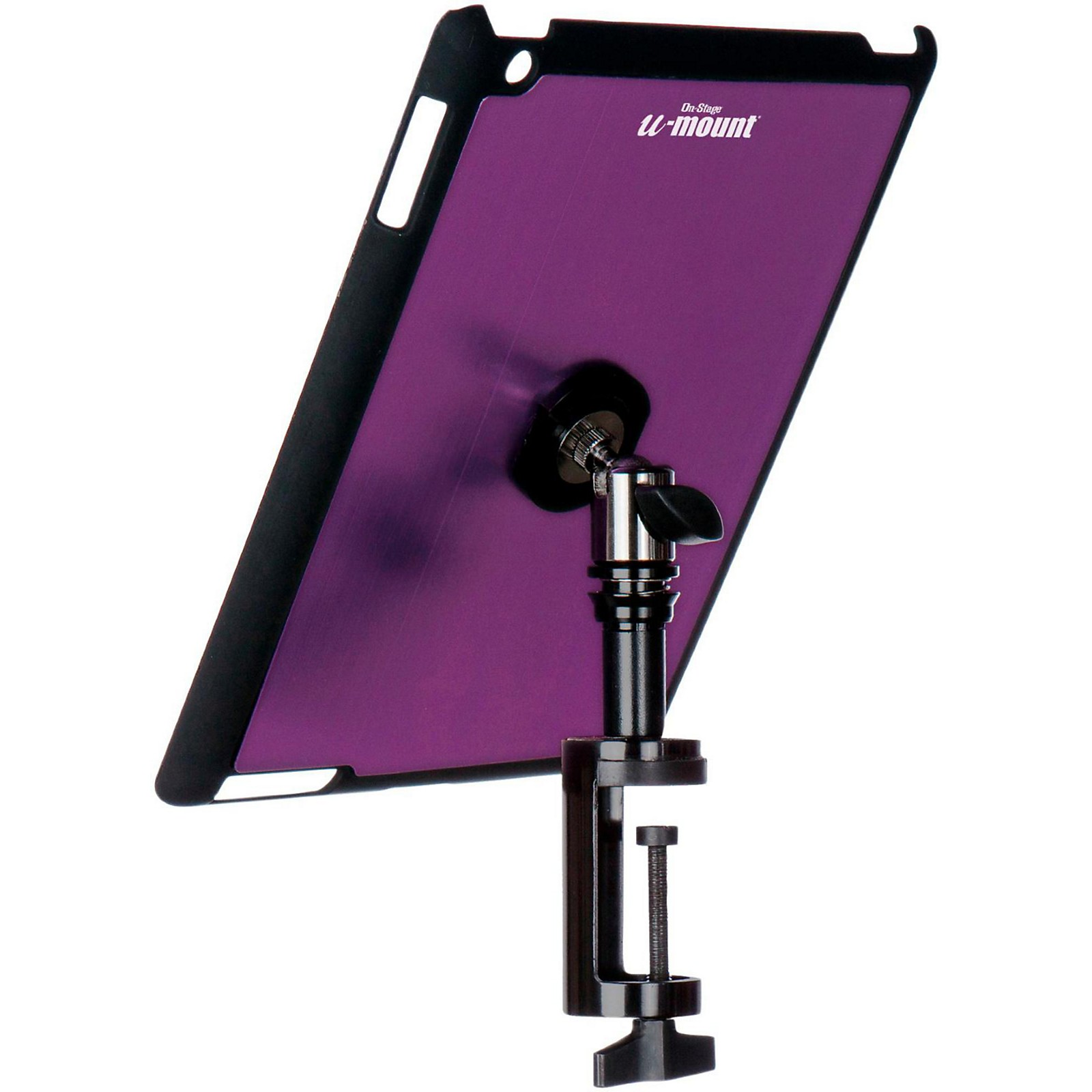 Open Box On-Stage TCM9163 Quick Disconnect Table Edge Tablet Mounting System with Snap-On Cover