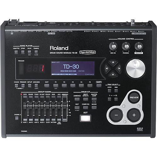 Open Box Roland TD-30 V-Drums Sound Module