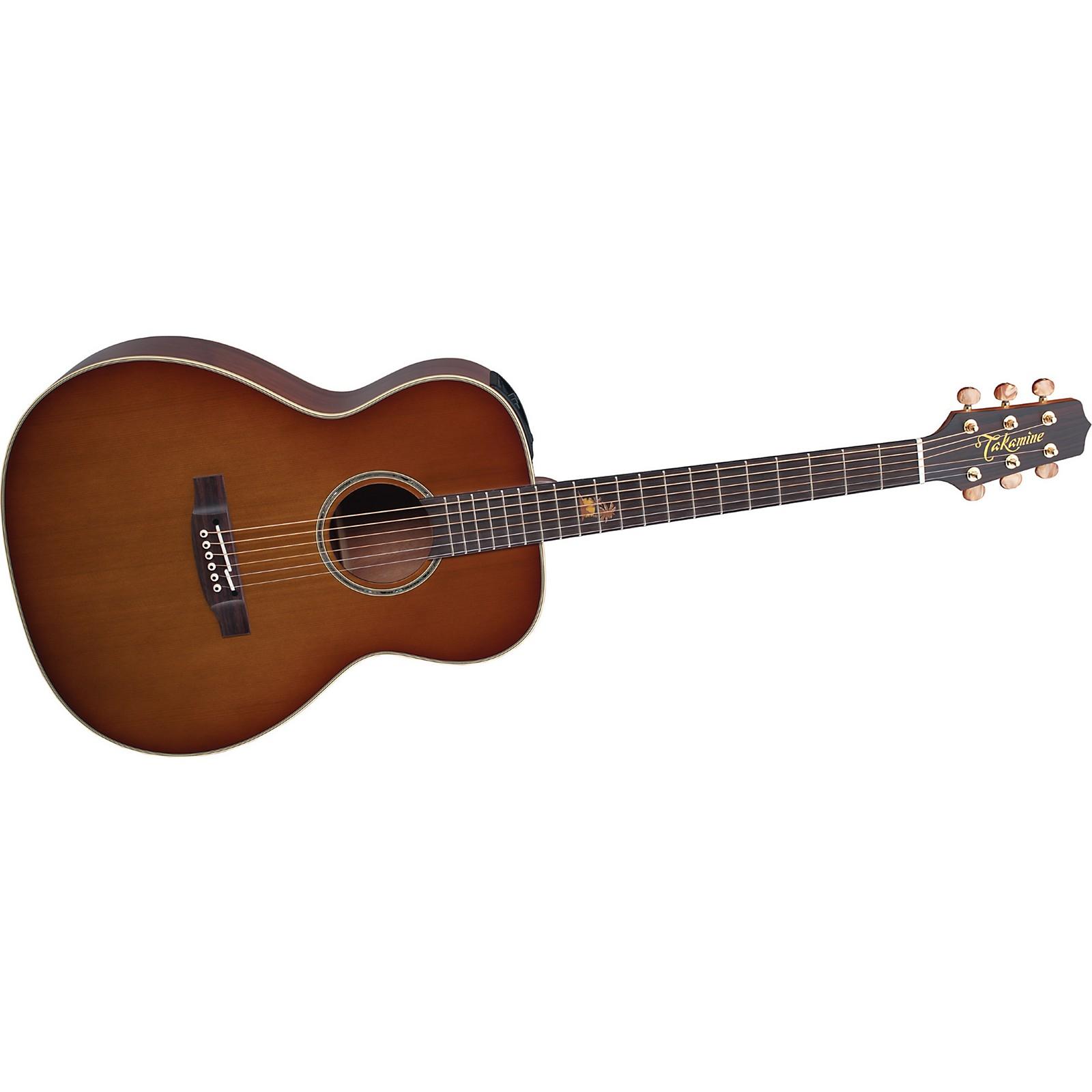 Open Box Takamine TF77PT OM Legacy Series Koa Acoustic-Electric Guitar