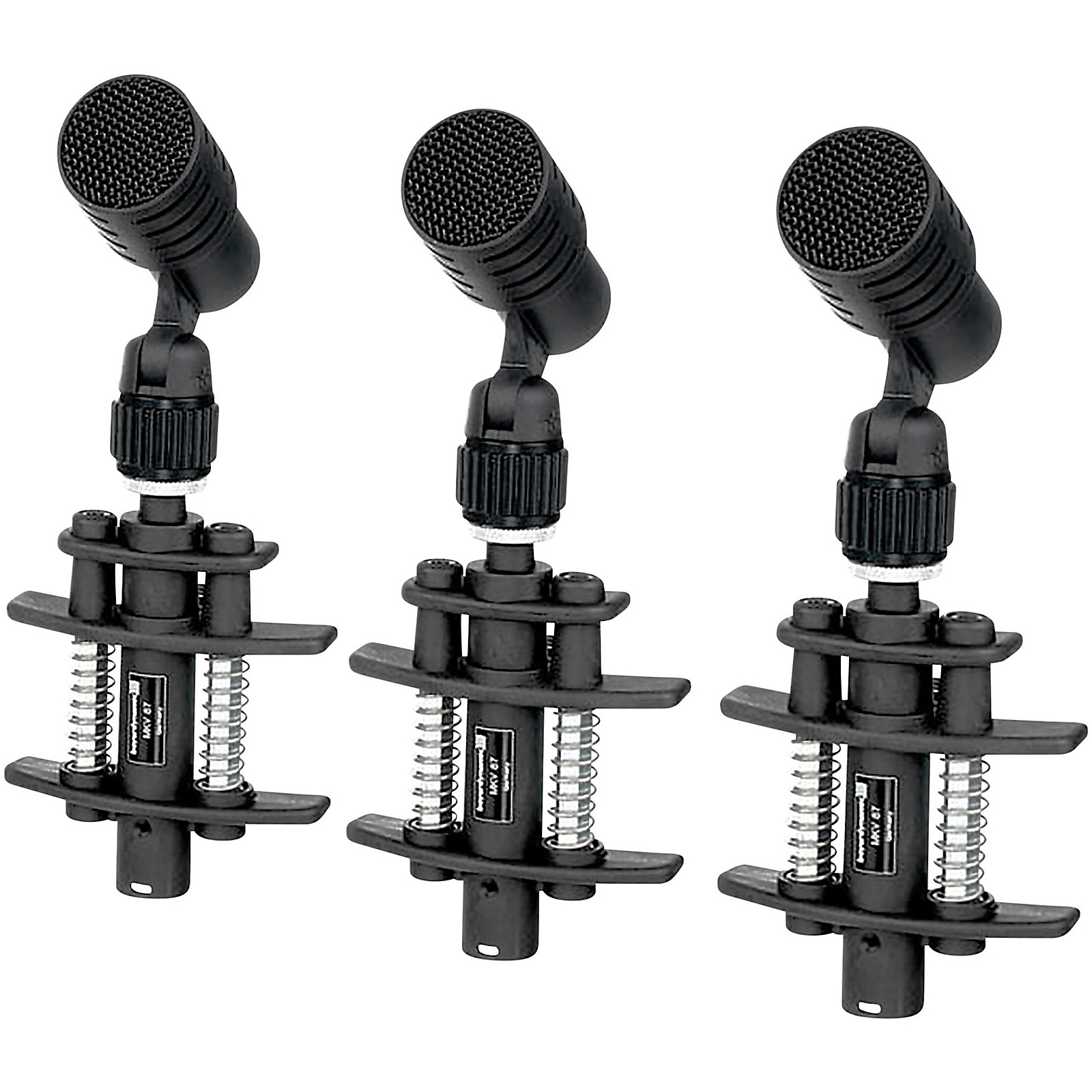 Open Box Beyerdynamic TG D35 Entry Level Clip on Dynamic Drum Mic - Pack of 3